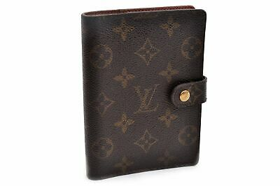 Authentic Louis Vuitton Monogram Agenda PM Day Planner Cover R20005 LV 92054