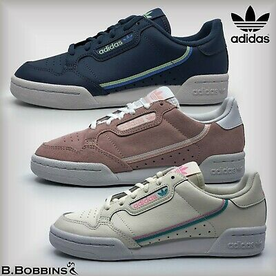 👟 Adidas CONTINENTAL 80 Trainers Size UK 11 12 13 1 2 3 4 5 6 Girls Boys Ladies