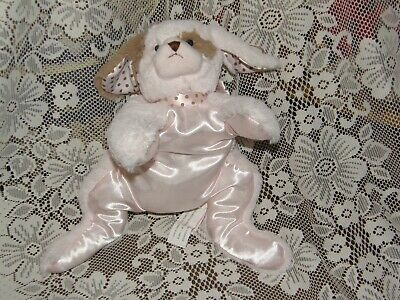 Bearington Baby Wiggles Pink Puppy Dog all tags