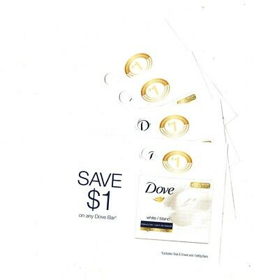 12 x Save $1.00 on 🔥Dove Bar Soap 🔥Coups (Canada)