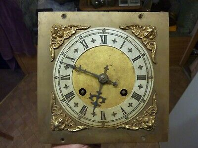 Old German Ting-Tang Part Movement & Brass Dial
