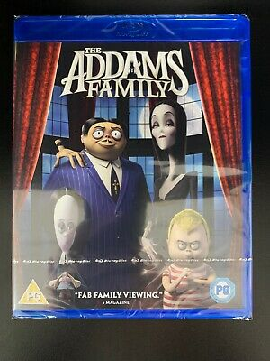 The Addams Family - Blu Ray -  UK Stock New & Sealed