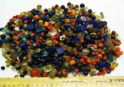 Huge collection of antique beads 1000 psc Byzantine Empire (1th-8th century)