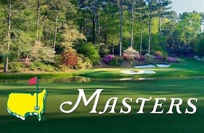 One MASTERS Tournament Practice Round Ticket WEDNESDAY 4/8/2020 FULL DAY Augusta
