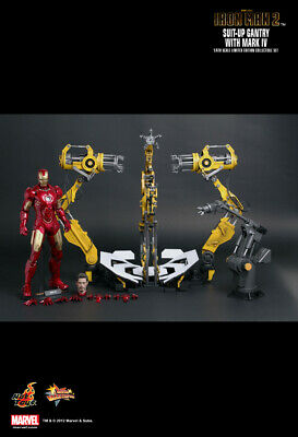 Hot toys Iron Man Mark 4 with Suit-Up Gantry MMS160