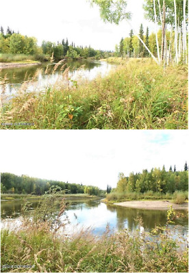 Gorgeous 22.43 Ac Alaska, Rare 1,835 Ft River Front & Pond Great Fishing/Hunting