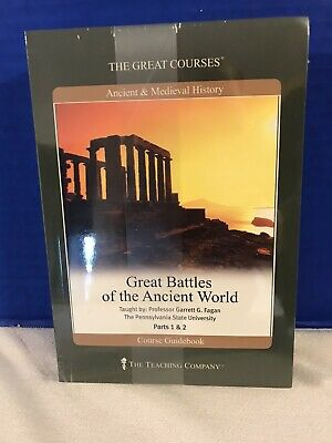 New The Teaching Company Great Battles Of The Ancient World Parts 1&2 Guidebook