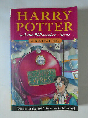Harry Potter And The Philosopher's Stone  First Ed. 1997 Paperback -  Good +