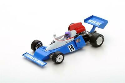 Brm P201 No.14 Belgio Gp 1975 Bob Evans in 1:43 Scala da Spark