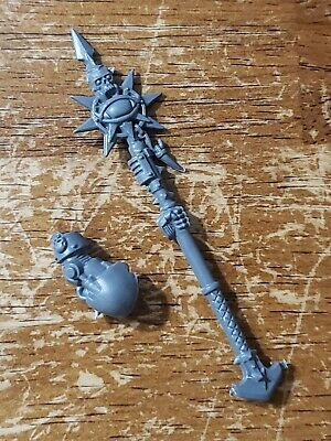 Warhammer 40k Chaos Space Marines Bits:Terminator Lord Engraved Power Axe