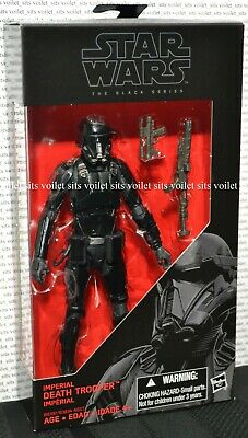"Hasbro Star Wars Rogue One The Black Series 6"" Figure 25 Imperial Death Trooper"