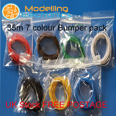 110m 16//0.2mm Equipment Wire Kit  3A 20 AWG* 11 Colours  Stranded WP-041818