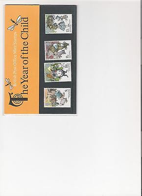 1979 Royal Mail Presentation Pack The Year Of The Child Mint Decimal Stamps