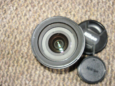 Nikon AF-S Nikkor 18-70mm F3.5-4.5G ED DX SWM ED IF Aspherical Lens - Very Nice