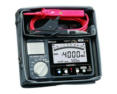 HIOKI IR4054-11 Insulation resistance tester Blutooth SMART mounted switch lead