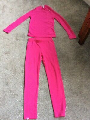 Decathlon Top And Bottoms Age 12 Years Pink New