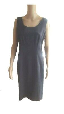 Austin Reed Gorgeous Grey Sleeveless Dress Worn Once Uk14 16 Us12 14 F42 44 It46 Eur 39 74 Picclick Fr