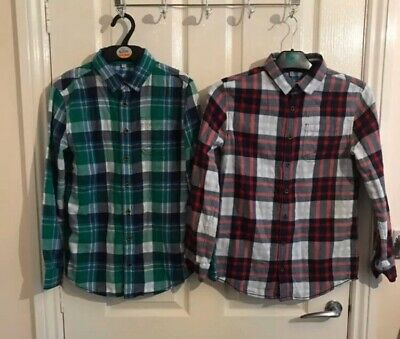 2 Boys Shirts Age 11-12 From M&S
