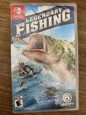 NEW Legendary Fishing Nintendo Switch Complete Canada SEALED