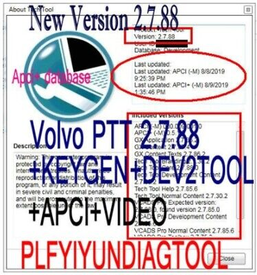 Premium Tech Tool 2.7.90 (PTT 2.7 / VCADS) [2019] (REAL Development) for volvo