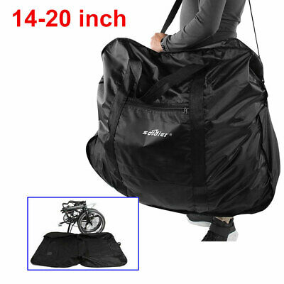 "20/"" Travel Bike Bag Carry Transport Case Mountain Road Bicycle Luggage Storage"