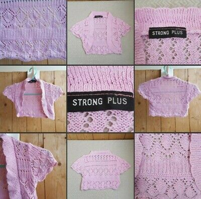 *Used* Lovely Little Baby Girls Pink Knit Shrug ♡STRONG PLUS♡ 2 Year~Cute Casual