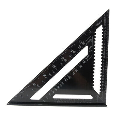"""METAL ROOFING RAFTER SET SQUARE 300mm 12""""  ALLOY RAFTER GUIDE"""