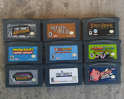 NINTENDO Gameboy Advance Small Lot *CHOOSE YOUR OWN*