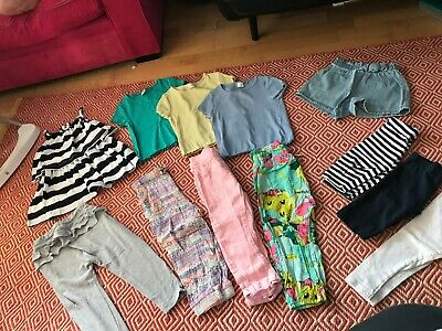 Girls NEXT 2-3 Years Summer Clothes Outfit Bundle - Trousers, Shorts, T-Shirts