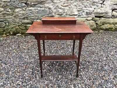 Edwardian Oak  Desk / Writing Table