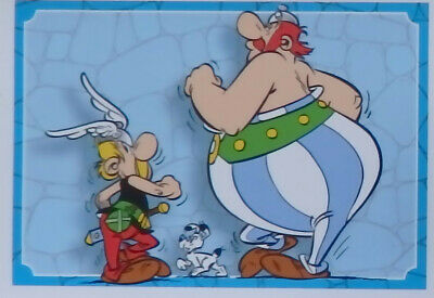 Carte panini N° 102   Asterix sticker carrefour 2019