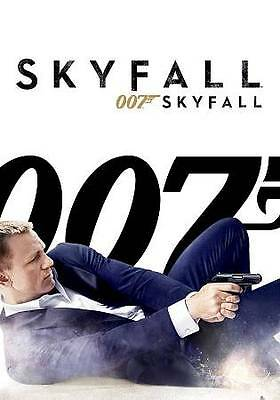 Skyfall - Sam Mendes Film (DVD, 2013) Daniel Craig as James Bond 007