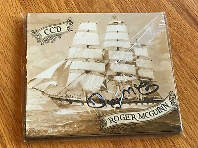 CD Roger McGuinn CCD Autographed/Signed The Byrds Pirates Sea Chanties New Seale