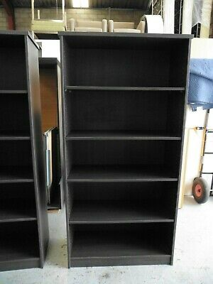 Office 1800Mm Charcoal Bookcase Brisbane