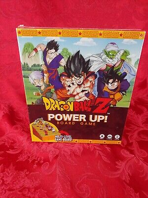Factory Sealed Dragon Ball Z Power Up Board Game Age 8 3-6 Players NEW