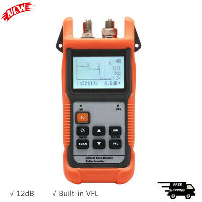 Mini OTDR Optical Time Domain Reflectometer with VFL For Fiber 1310nm 1550nm