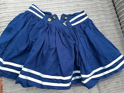 Adee Girls Sailor Skirt  Age 10 Years Navy White A Dee