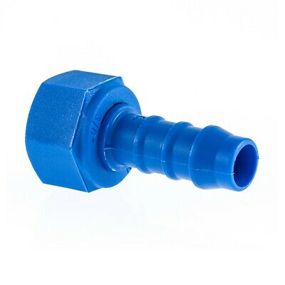 Nylon Barbed Female BSP x Hose Straight Adaptor TEFEN Fuel Pipe Water