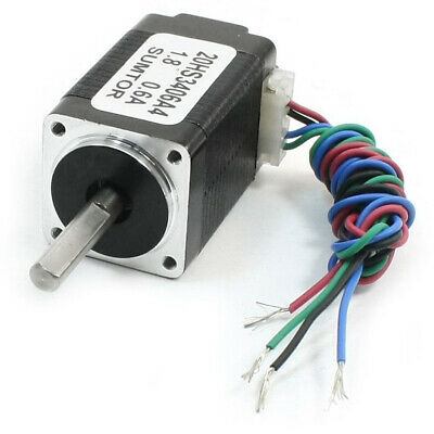 Nema8 4 Lead CNC Router Mill Stepping Stepper Motor 34mm 0.6A 2.5oz.in A6R2