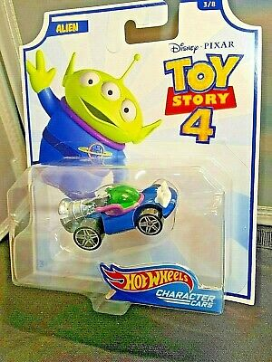Toy Story 4 Alien Character Car #3/8 Hot Wheels Disney Pixar Collect Them All