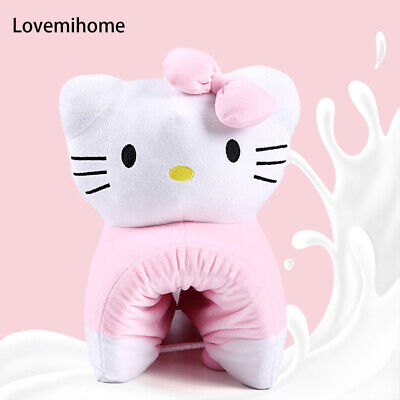 Hello Kitty Pillow - 100% Natural Latex Pillow with Case - Foldable Pillow Toy
