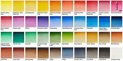 Winsor & Newton Cotman 8ml Watercolours - Available in 40 different colours!