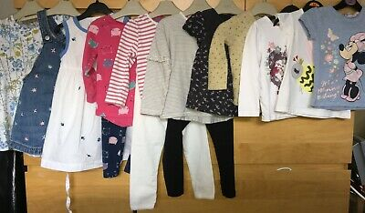 Girls Big Bundle age 2-3 years, Dresses, tops, bottoms, cardigan, NEXT, F&F