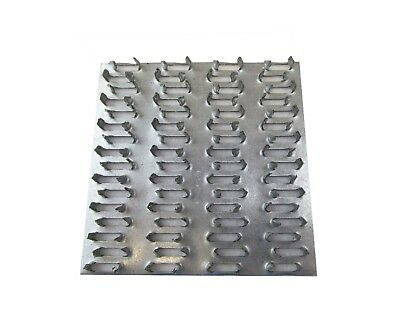 "10"" x 12"" Truss Plate Mending Plate (48) Nail Teeth Structural Connecting Plate"