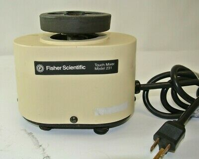Fisher Scientific Touch Mixer Model 231 - Tested!