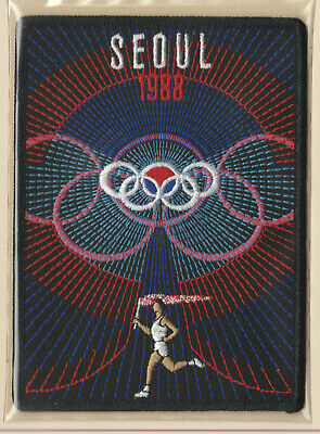 1988 Summer Olympics Xxiv Seoul Official Olympic Games Patch Willabee Ward