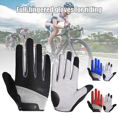 Men Women Full Finger Work Out Gym Gloves Sport Weight Lifting Exercise Fitness