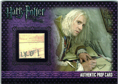 Harry Potter Deathly Hallows Part 1 Prop Card P7 Drawings Lovegood House 188/200
