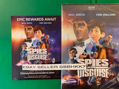 Spies In Disguise DVD ****AUTHENTIC READ DESCRIPTION*** Brand New Free Shipping
