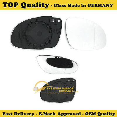 Right side for Volkswagen Sharan 10-16 Wide Angle heat wing door mirror glass